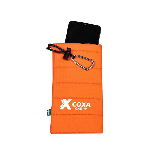 Mobile Thermo Case Orange with iPhone